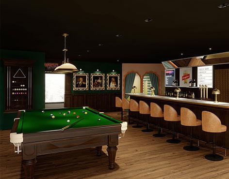RockyPop Hotel & Spa Flaine billiards