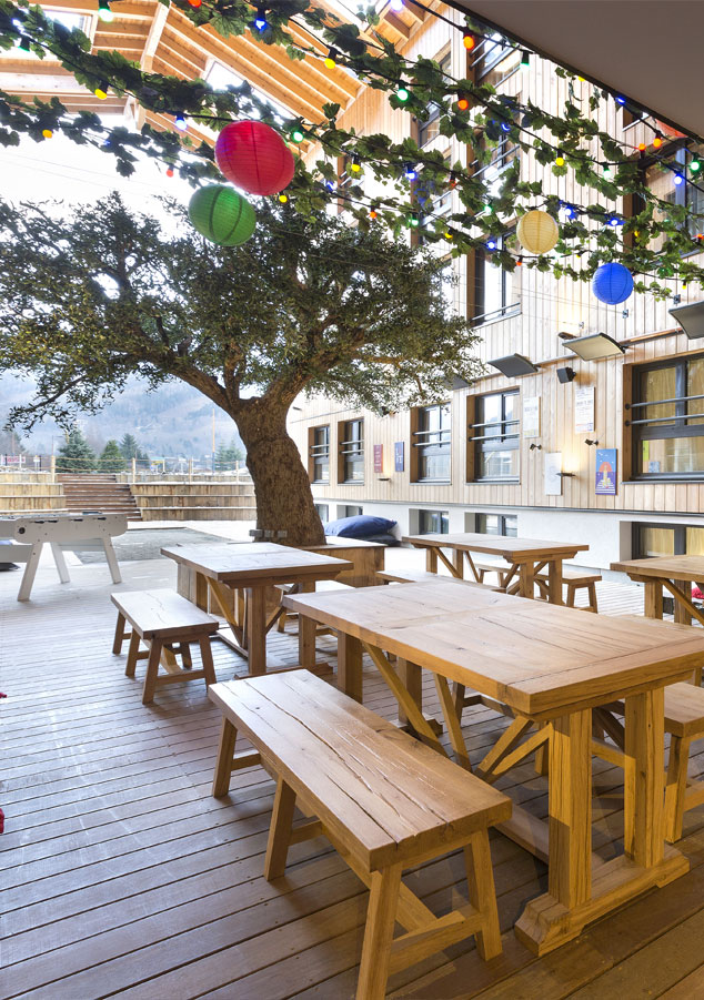 Hotel-RockyPop-Chamonix-Les-Houches-Terrasse