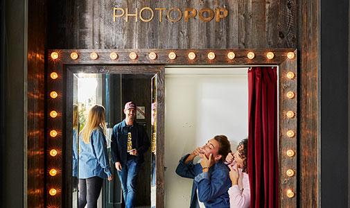 photo booth chamonix
